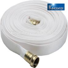 Legen Sie flache Bewässerungs-Feuerschläuche mit verstärktem PVC-Feuerbekämpfung