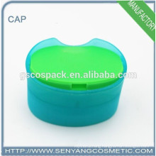 all color round shape plastic big size cap disc top cap