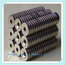 Ring Neodymium Magnet with Nickel Plating