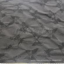 Jacquard de borboleta com tecido de nylon de 4 vias Spandex para jaqueta Casual