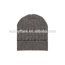 2017 Wholesale Custom Cashmere Beanie Hat