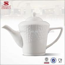 Tetera de té turca real fina al por mayor de la porcelana, regalo chino del té