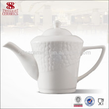 Wholesale fine royal porcelain turkish tea kettle, chinese tea gift