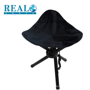 Realsport hot sale folding garden metal chair cheap portable camping stool