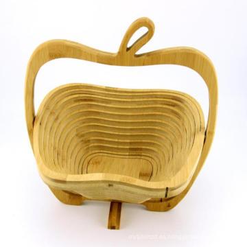 el más nuevo diseño cesta de fruta de bambú de Vietnam para la venta