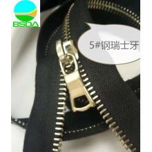 High Strength Stainless Steel RIRI Teeth Zipper