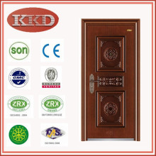 UV-prova Swing porta de aço KKD-504 para entrada de apartamento