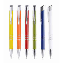 New Style Factory Low Price Click Plastic Ball Pen for Promotion