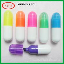 Non Toxic Mini Multi-color Highlighter