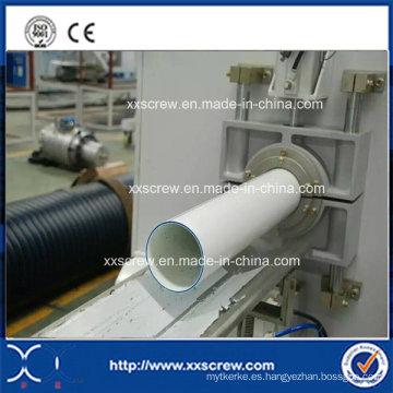 Maquinaria del extrusor del tubo del PVC de tres capas