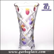 Vaso de vidro da tulipa (GB1514YJX-PDS2)