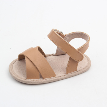 Hot Sell Leather Hard Sole Kids Sandal
