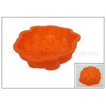 Molde em forma de flor do bolo da borracha de silicone (RS21)