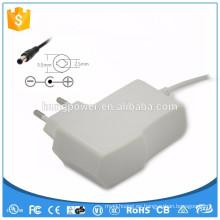 14v dc 500ma blanco fuente de alimentación led tira adaptador