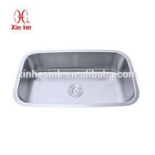 Utensílios de cozinha importados de pia sob a pia de aço inoxidável rack de pia