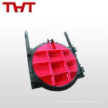 THT marque à bas prix en fonte vannes à guillotine vanne vanne à guillotine