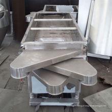 Peneira quadrada da série FS, peneira quadrada de metal SS, tamanhos de peneira padrão multicamadas em mm