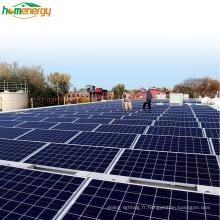 Générateur de système d'énergie solaire à onduleur industriel 50 kw Bluesun