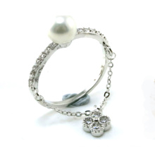 Anillo de la manera de la señora anillo 925 joyería de la plata esterlina (R10398)