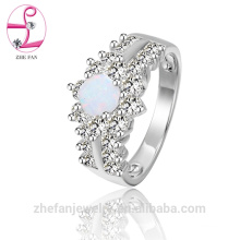 Manufactory wholesale crazy opal jewelry designs solid rhodium jewelry