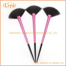 Qualidade superior Fan escova cosmética amostra grátis