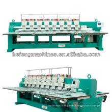 8 Heads Computerized Flatbed Embroidery Machine , 110V / 220V