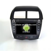 Четырехъядерный!автомобильный DVD с зеркальная связь/видеорегистратор/ТМЗ/obd2 для 8 дюймов сенсорный экран четырехъядерный процессор андроид 4.4 системы Мицубиси ASX