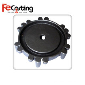Customized Cast Iron Auto Parts with Powder Coating
