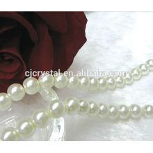Perles en perles de verre, bijoux en perles en gros à vendre, perles en verre massif