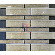 Beige Cracked Effect Mosaics Made by Ceramic (CST155)