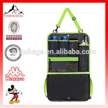 Organisateur de Backseat de sac de stockage de voiture, isolation de sac de stockage de voyage de Multi-poche