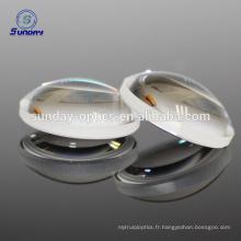dia 25.4mm longueur focale -75mm BK7 Optical Biconcave Lentilles