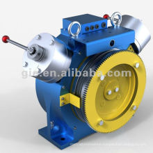 0.5m/s-630kg-GSD-SM gearless elevator motor/elevator traction machine
