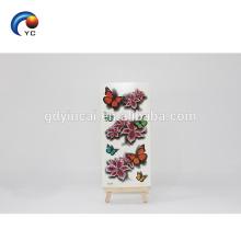 Autocollant de tatouage temporaire de fleur de papillon 3D réaliste personnalisé