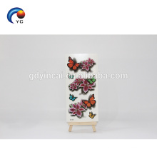 Customized realistic 3D butterfly flower Temporary Tattoo Sticker