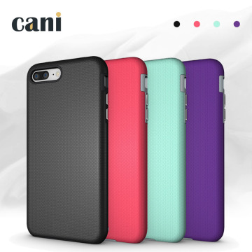 Capa de telefone colorida para iphone7 plus resistente