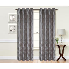 Thermal Insulated Blackout Jacquard Curtains For Bedroom