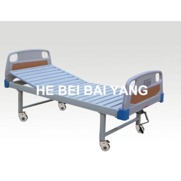 A-105 Movable Single Function Manual Больничная кровать