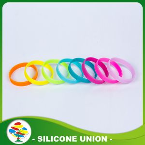 Promotion Multicolor Silicone Glow In Dark  Bracelet