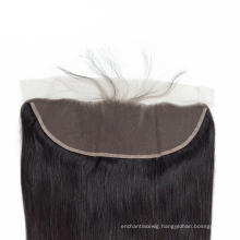 Best Quality Human Hair Straight Hair No Shedding 13*4 Human Hair Closure