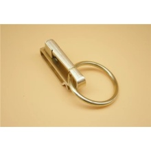 Simple brass metal key chains