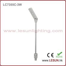 Novo modelo! Diodo emissor de luz 3W sob a luz do armário para a exposição LC7355c da jóia