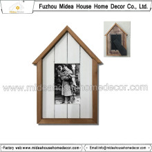 Quadro elegante da foto da forma da casa