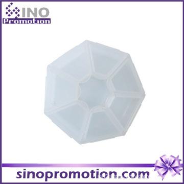 7 Days Plastic Decorative Slide Pill Box Price with Cheap