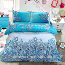 2017custom hojas de cama 4 piezas Inicio ropa de cama edredón cubierta de algodón rey hojas de cama