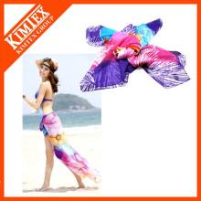 100% Polyester-Art und Weise Sarong Strand-Schal