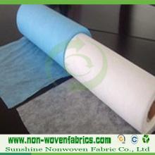 Rollos de tela no tejida hilados por adhesión PP