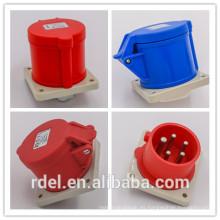 LP-33 16A-9H 200-250V 3P + E IP44 CE ACOPLADOR DE ENCHUFE INDUSTRIAL