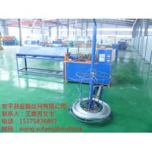 Semi-automatic diamond wire mesh machine