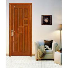 Portes de salle à manger extérieures insonorisées à l'épreuve de l'eau, portes en bois massif en bois massif